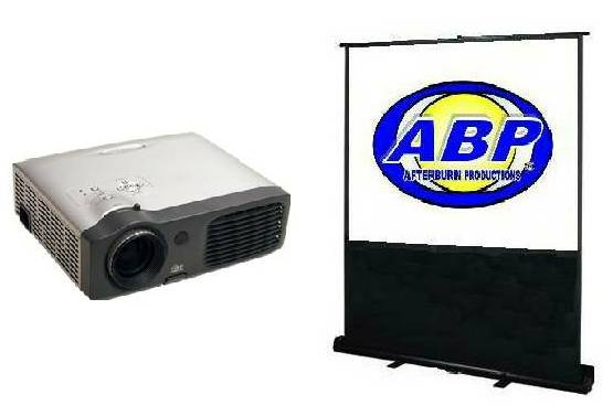 Projector & Screen Rental